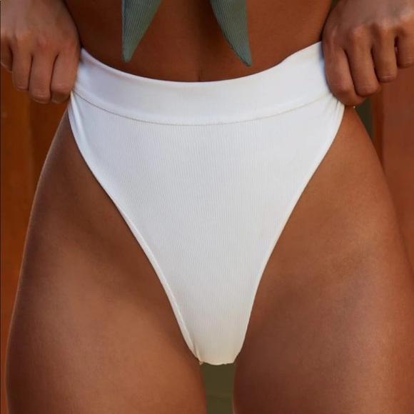 e60ae61c8 NWT Oh Polly High Waist Thong Bikini Bottoms